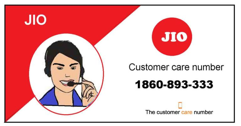 JIO Customer Care And Toll-Free Number (contact 24X7)