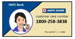hdfc customer care and toll-free